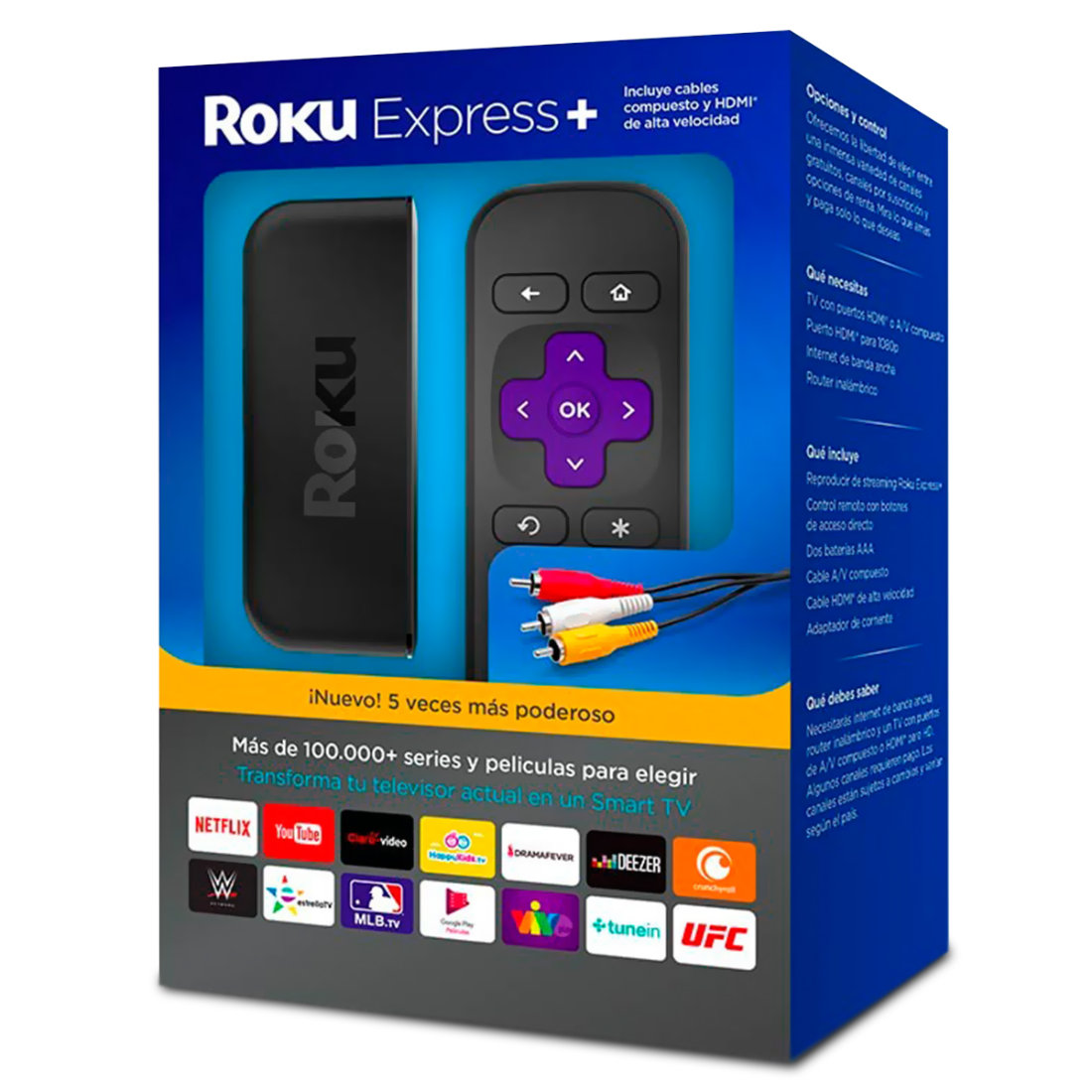 REPRODUCTOR DE STREAMING ROKU EXPRESS