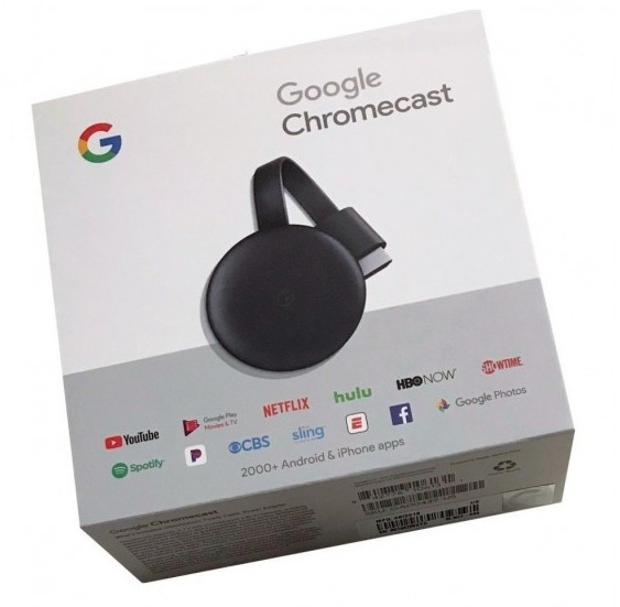 GOOGLE CHROMECAST 3 CHARCOAL GRAY LATAM