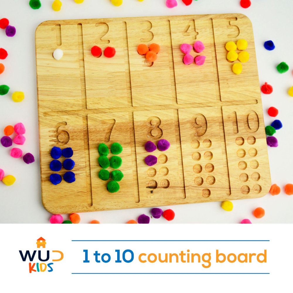 1 To 10 Counting Board