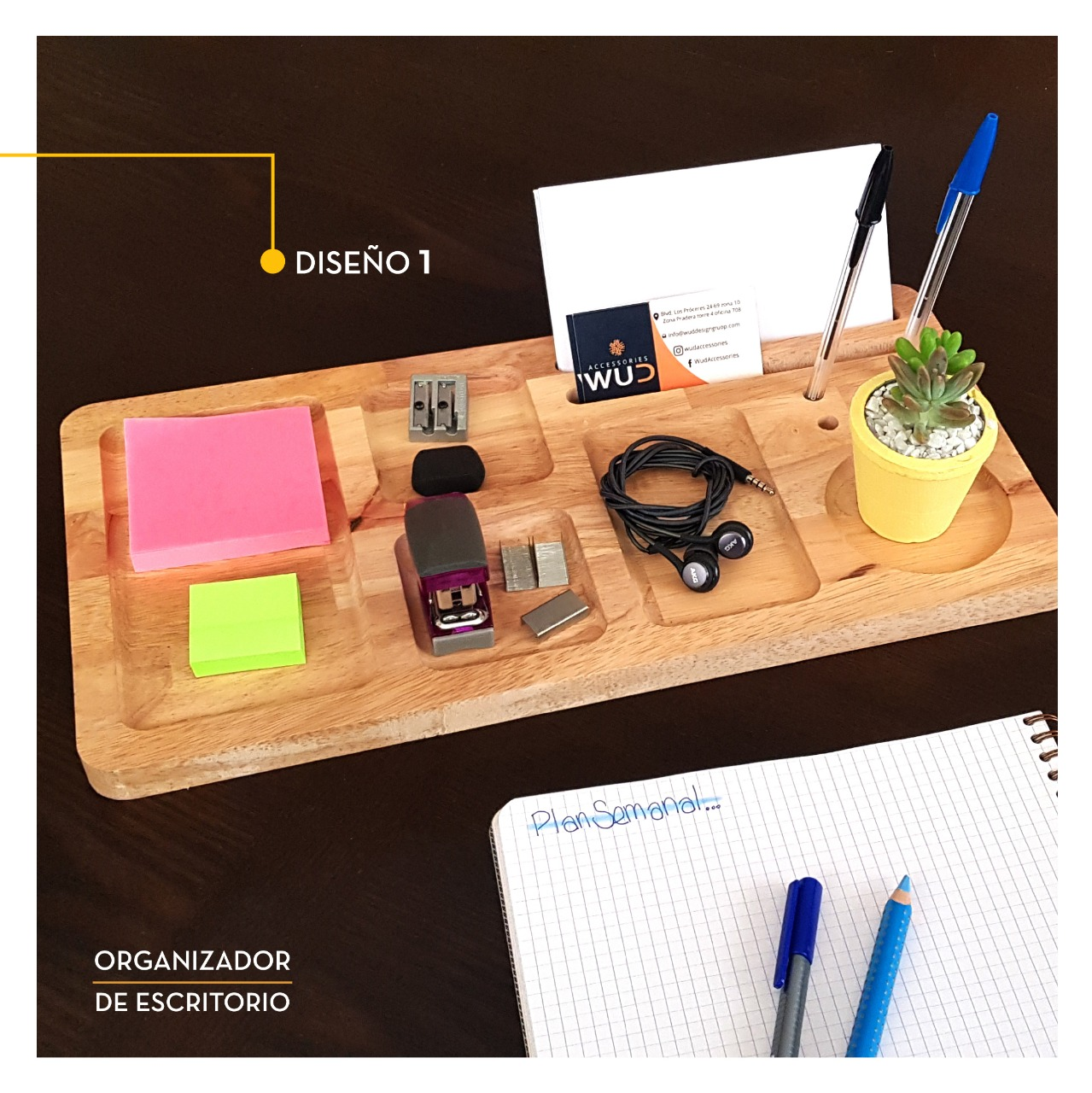 Organizador rectangular (XL)
